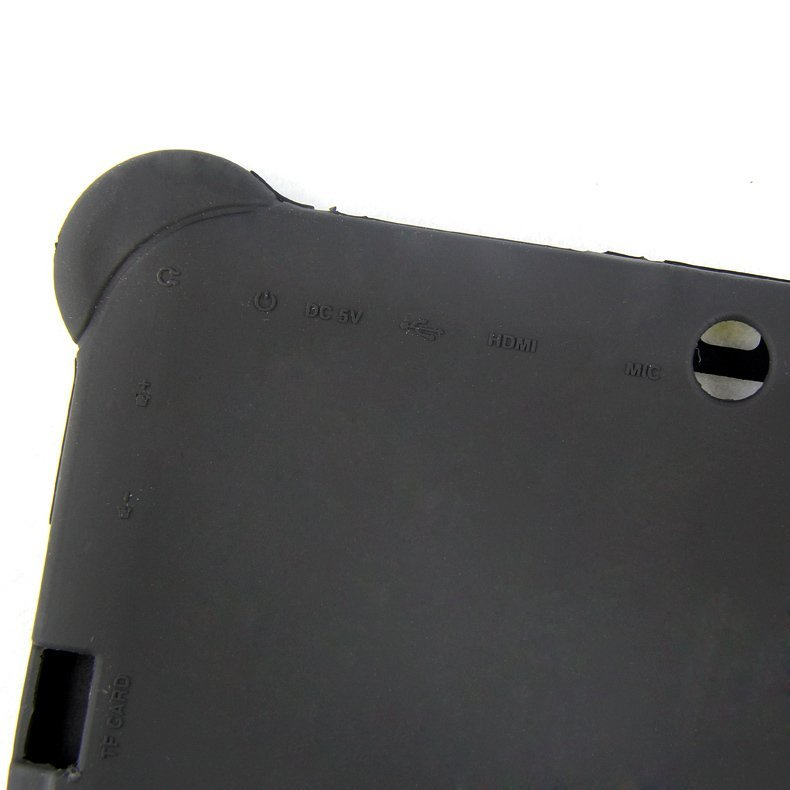 Silicone Gel Protective Case for 7 Inch Tablet (Black)