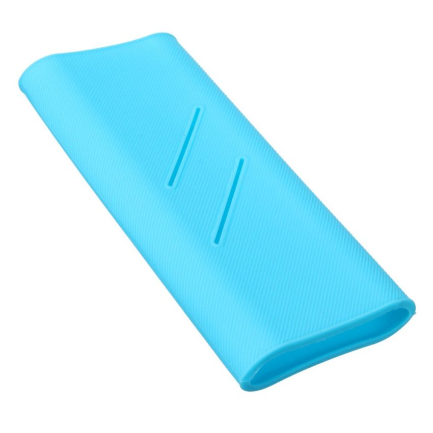 Silicone Protector Cover for Xiaomi Power Bank 16000 mAh Blue