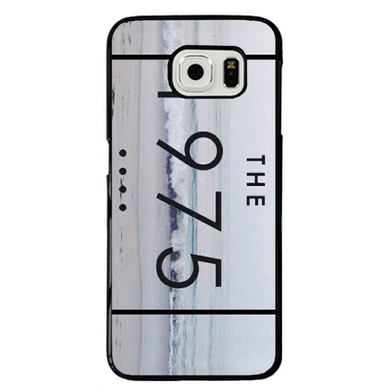 Simple The 1975 Printed Phone Case for Samsung Galaxy S6 Edge (Multicolor)