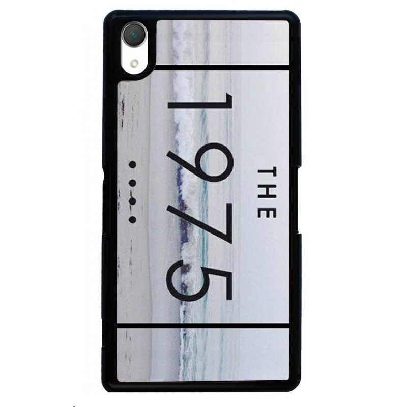 Simple The 1975 Printed Phone Case for SONY Xperia Z4 (Black)