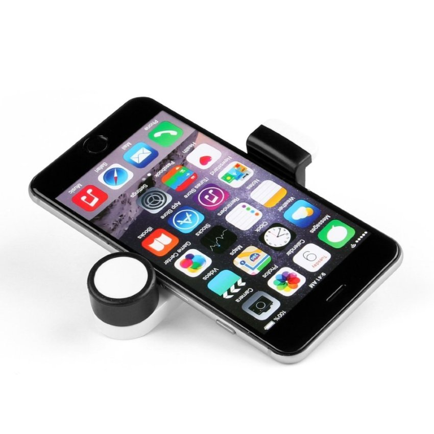 SINOKAL Portable Car Air Vent Mount Holder for Mobile Phone (White) (Intl)