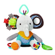 Skip Hop Bandana Buddies Activity Elephant - Abu-Abu
