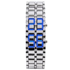 SKMEI Men's 8061 Men's Fashionable Blue LED Digital Waterproof Outdoor Wristwatches (Intl)
