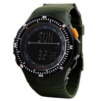 SKMEI Sport Watch Water Resistant 50m - DG0989 - Green