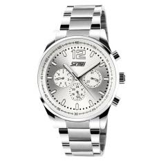 Skmei Squire Men's Watches New Waterproof Silicone Watch Quartz Watch Pointer
