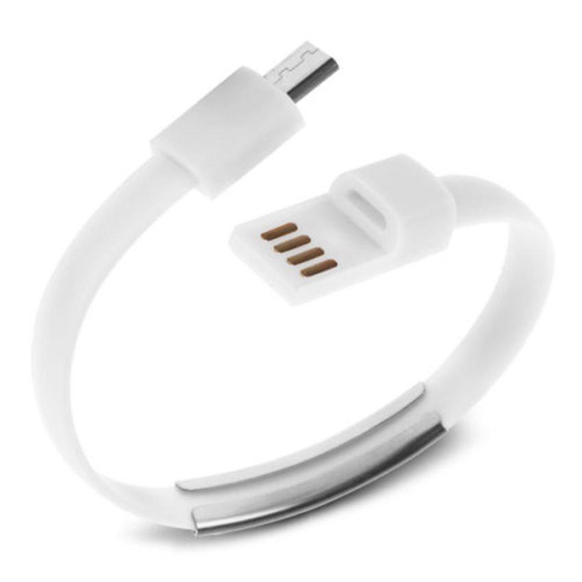Sky Kabel Data Gelang Micro USB - Putih