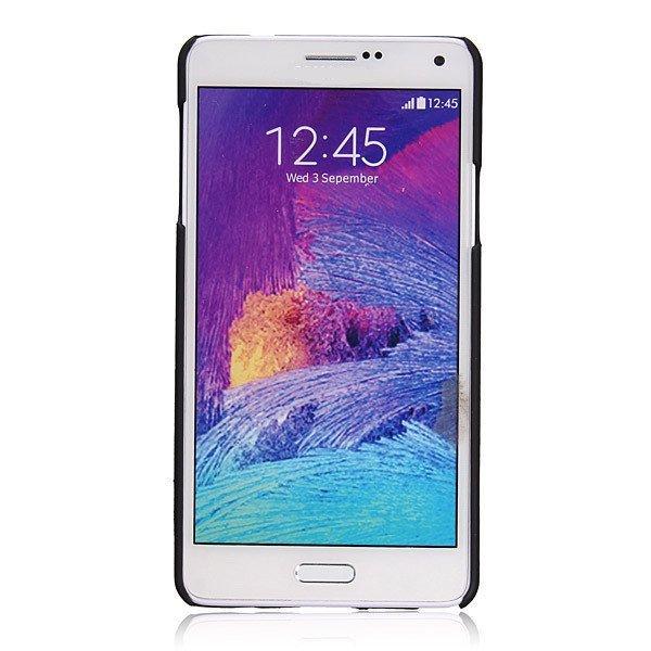 Slim Brushed Aluminum Metal Hard Back Cover Case for Samsung Galaxy Note 4 N9100 (Pink) (Intl)