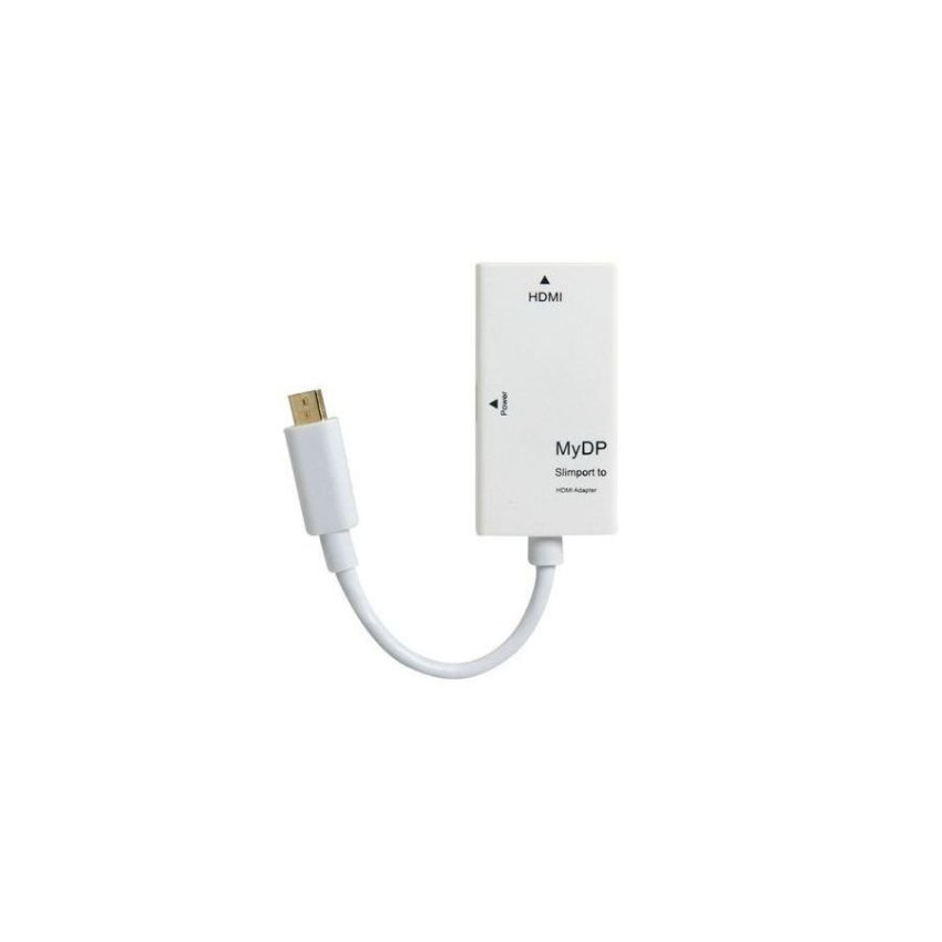 SlimPort to HDMI Adapter White