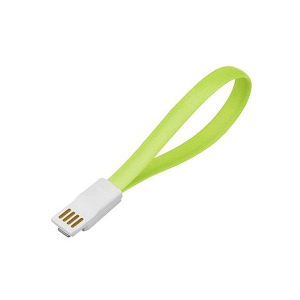 Smart Magnetic Micro USB Cable - Hijau