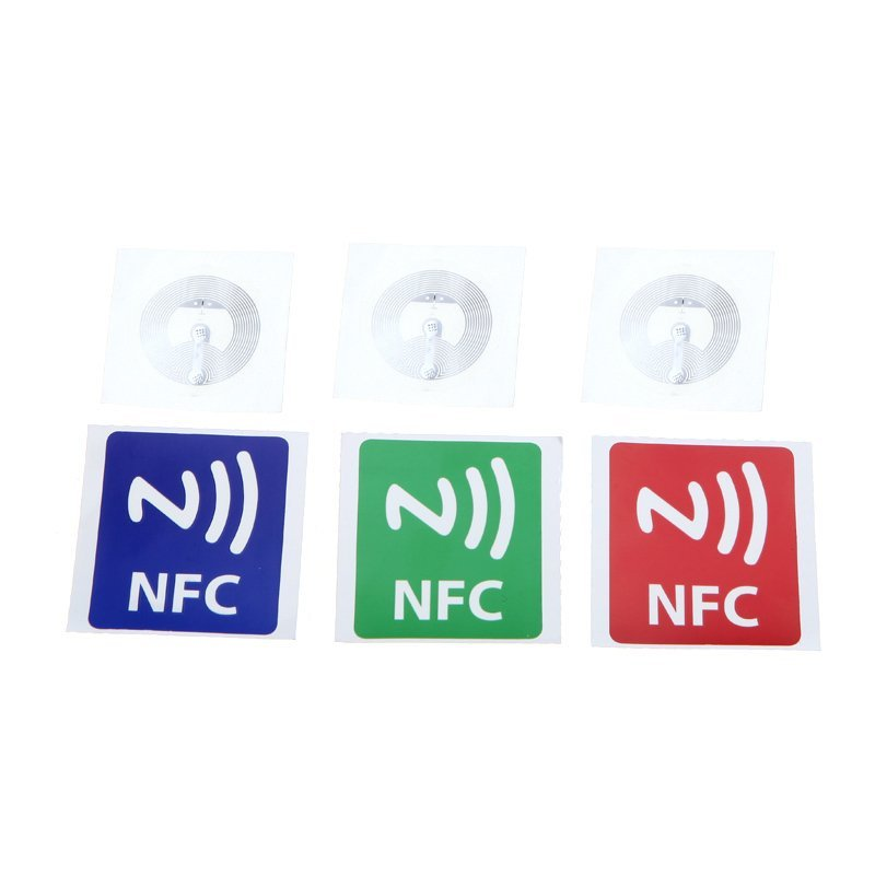 Smart NFC Tags Stickers for Samsung Galaxy S5 S4 Note III /Nokia Lumia 920/Sony Xperia/Nexus 5 Set of 3