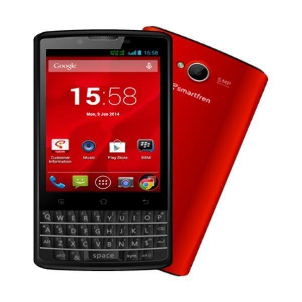 Smartfren Andromax G2 QWERTY - 4GB - Merah