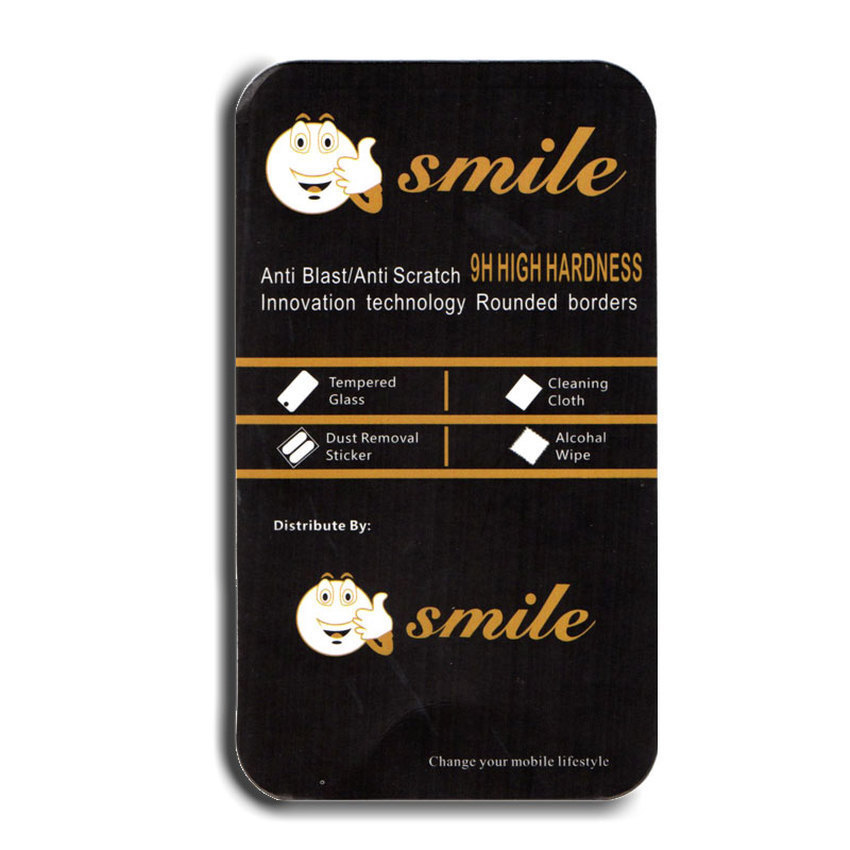 Smile Tempered Glass For Samsung Galaxy J5- Clear