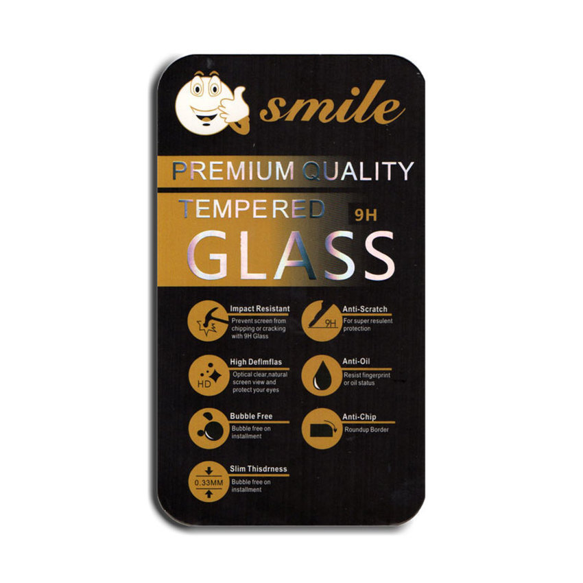 Smile Tempered Glass for Samsung Galaxy On5 -Clear