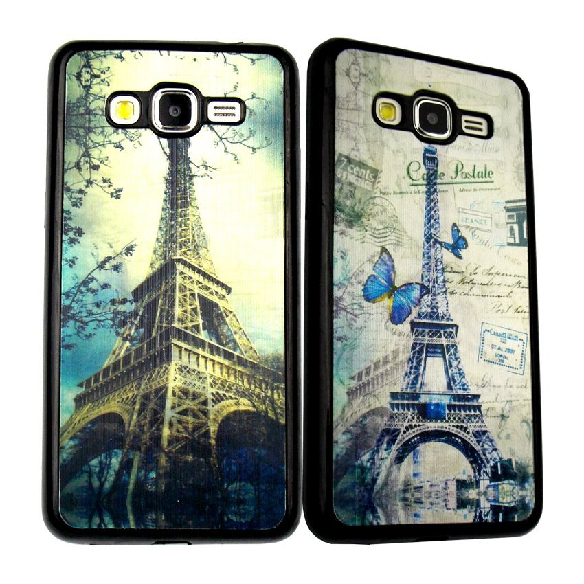 Softcase Fuze Paris 3D Samsung Galaxy  Grand I9082  - Motif 1