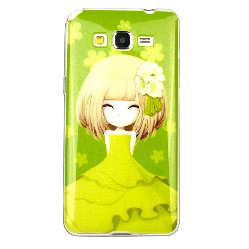 Softcase Glitter Girly IMD for Samsung Galaxy J5 - Motif 1