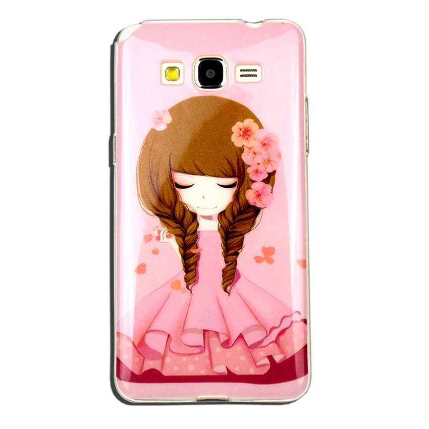 Softcase Glitter Girly IMD for Samsung Galaxy J5 - Motif 10