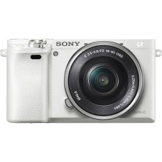 Sony Alpha A6000 Kit 16-50mm White Kamera Mirrorless