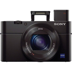 Sony Cyber-shot DSC-RX100 III Digital Camera - 20.1MP - Hitam