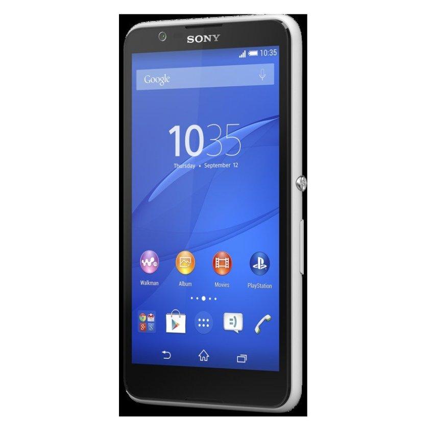 Sony E2115 Xperia E4 Dual SIM - 8 GB - Putih