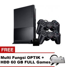 Sony Playstation PS2 Slim Seri 7 + Gratis Optik Hardisk 60GB Full Games