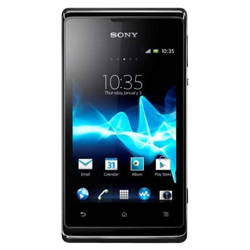 Sony Xperia E Dual C1605 - 4 GB - Hitam