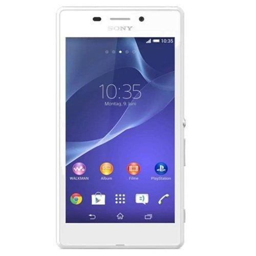 Sony Xperia M2 Aqua - 4G/LTE - Quadcore - RAM 1GB - Tahan Air - 8GB - Putih