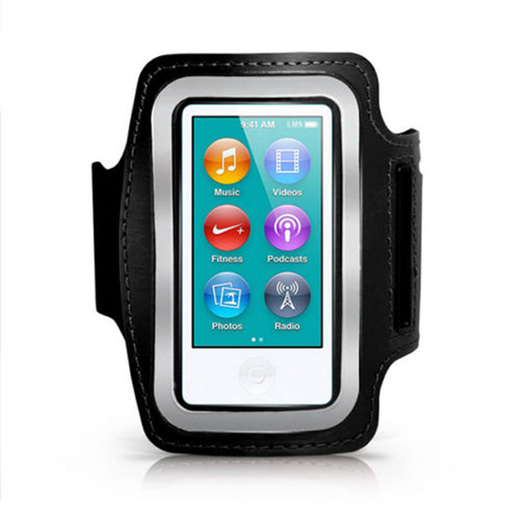 Sporter Sport Running Gym Soft Armband Cover for iPod Nano 7th Generation (Black) (Intl)