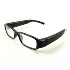 Spy Eyewear Glasses Camera Video Recorder HD 720P - Black