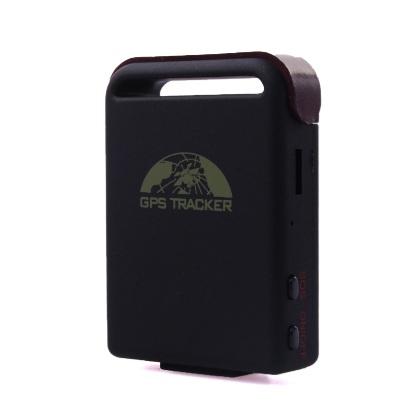 Spy Vehicle Realtime GPS GSM GPRS Car Tracker TK102 + Hard-wired Charger MA085-SZ (Black)