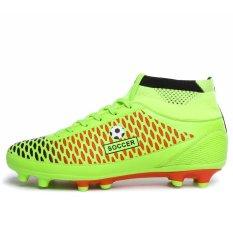 ST Men Sports Soccer Shoes (Green) (Intl)