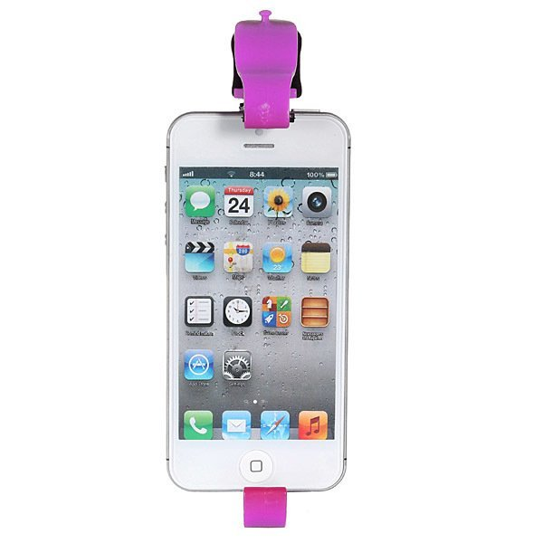 "Steer Wheel Cradle Holder SMART Clip Car Bike Mount for 4.7""iPhone 6/ 5.5""6 Plus Pink (Intl)"