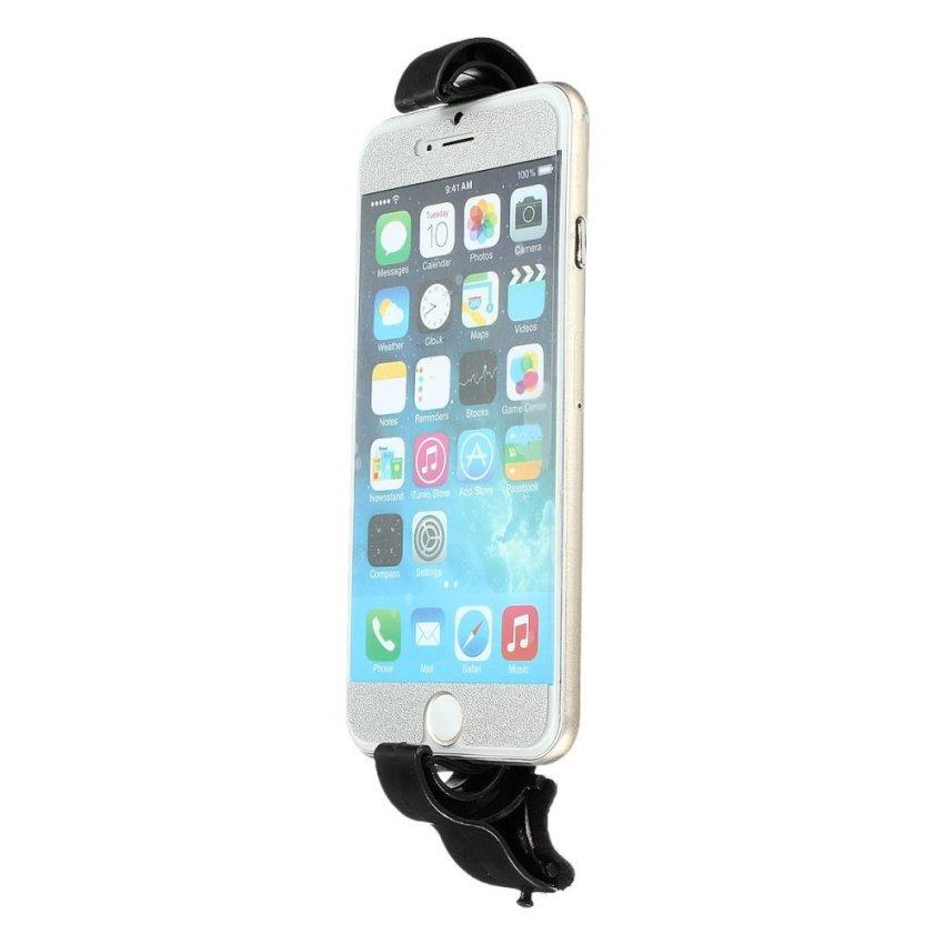 Steering Wheel Cradle Holder Clip Car Bike Mount Bracket f. GPS PSP For iPhone 6 (Intl)