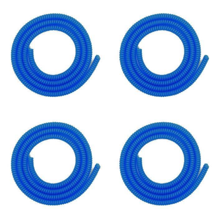 Stichi Pelindung Kabel 4 Pcs - Biru