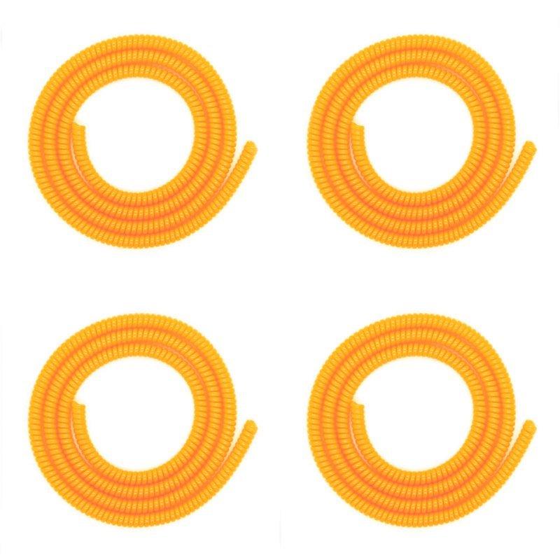 Stichi Pelindung Kabel 4 Pcs - Oranye