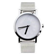 Stylish Design And Simple Style Ladies Watch (White)