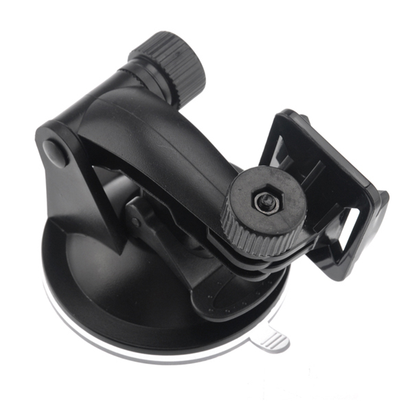 Suction Cup Dash Windshield Vacuum Car Camera Mount for GoPro Hero2 3 3+ SJ4000 (Black) (Intl)