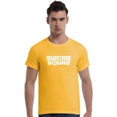 Suicide Squad Aim At (White) Cotton Soft Men Short T-Shirt (Yellow) - Intl