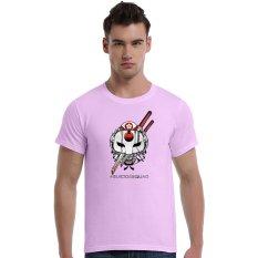 Suicide Squad Katana Cherry Blossoms Cotton Soft Men Short T-Shirt (Pink) - Intl