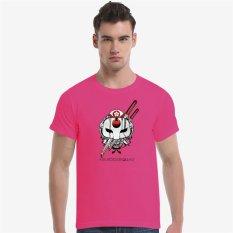 Suicide Squad Katana Cherry Blossoms Cotton Soft Men Short T-Shirt (Rose) - Intl