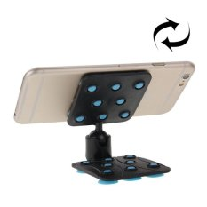 SUNSKY 360 Degree Rotatable Cup Holder / Desktop Stand For IPhone 6 And 6 Plus, IPhone 6S And 6S Plus, Samsung Galaxy S6 Edge + / S6 Edge / S6, HTC, Nokia, Sony (Blue) - Intl