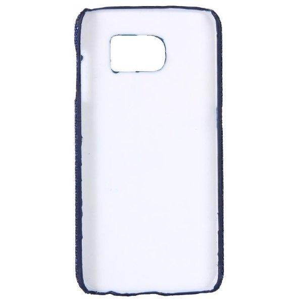 SUNSKY Flash Powder Skin Paste Plastic Protective Case for Samsung Galaxy Note 5 / N920 (Dark Blue) (Intl)
