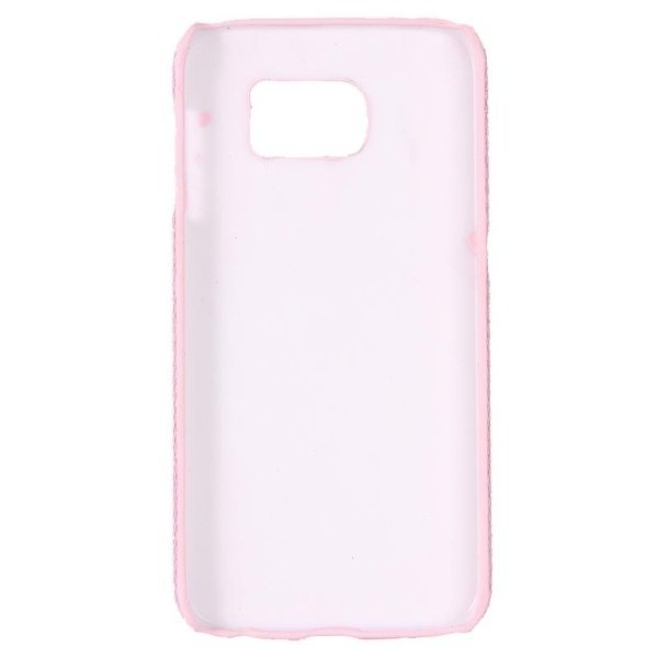 SUNSKY Flash Powder Skin Paste Plastic Protective Case for Samsung Galaxy Note 5 / N920 (Pink) (Intl)
