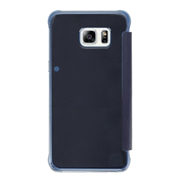 SUNSKY Horizontal Flip PU+PC Combination Cover with Sleep / Wake-up Function for Samsung Galaxy S6 edge+ / G928 (Blue) (Intl)