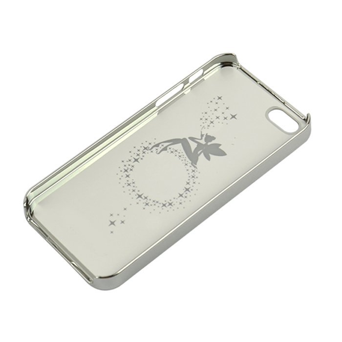 Sunweb White Plaid Pattern Hard Case Cover Skin Protector for iPhone 5 5s ( White )