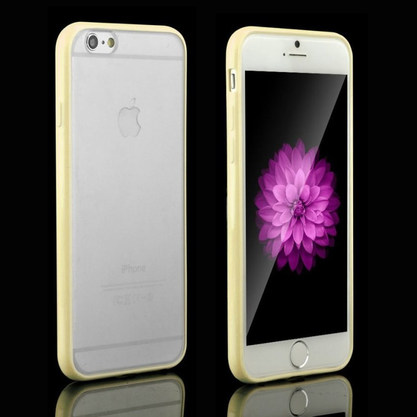 Super Thin Matte Clear Transparent Crystal Hard Case Cover For iPhone 6 6s 4.7
