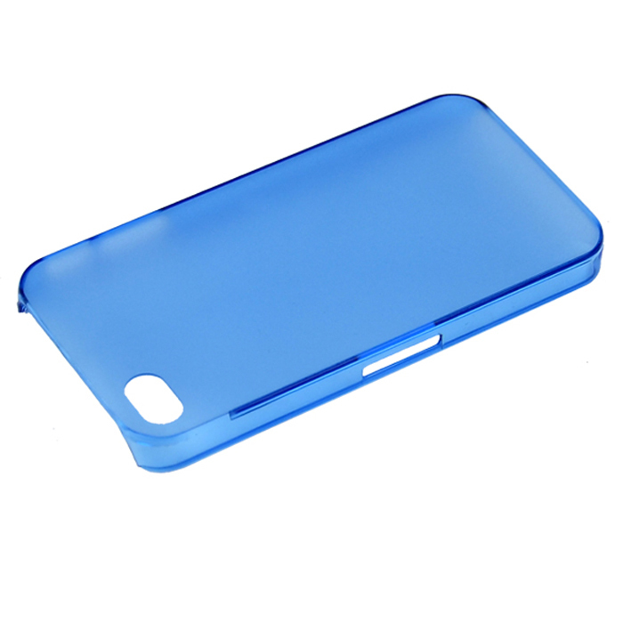 SuperCart Phone Hard Shell Case for iphone 4 4S (Blue) (Intl)