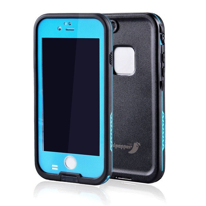 Supercart Waterproof Shockproof Dirt Proof Back Case for Apple iPhone 6 4.7inch (Light Blue) (Intl)