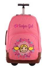 Surfer Girl Bags 2WH SB Backpack City Tour Trolley - Pink