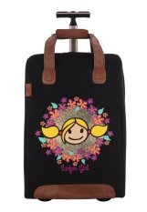 Surfer Girl Bags 2WH SB Chic Traveller Cabin Trolley - Hitam