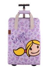 Surfer Girl Bags 2WH TD Chic Traveller Cabin Trolley - Ungu